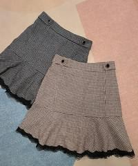 And hound lace skirt pants