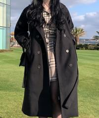 Jeanne Daily Long Wool Coat