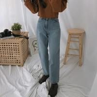 561 basic straight denim pants
