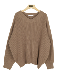 Raymer V-neck knit