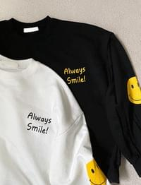 Smile Sweatshirt T