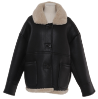 Reversible Overfit Dumble Shearling