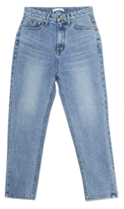 Plan date denim pants