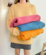 Woolen Loose Knit Sweater