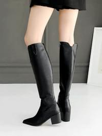 Rotez Western Long Boots 6cm
