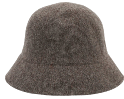 Rut wool bucket hat