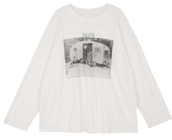 Trailer long sleeve T-shirt