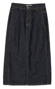 Buddy Dough Denim Maxi Skirt