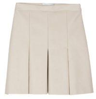 Plany leather mini skirt