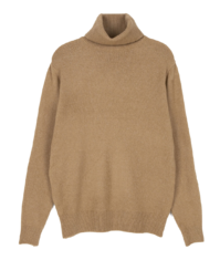 Soft windy turtleneck knit