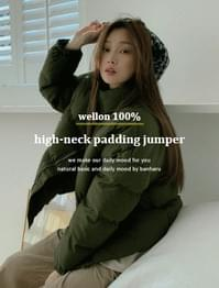 Day High Neck Wellon Padded Jumper