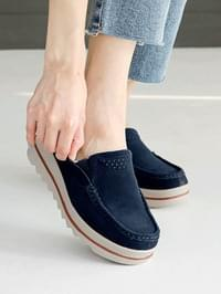 I like wedge full heel loafers 5cm