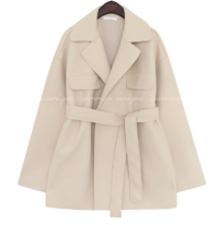 RAY FLAP STRAP HALF COAT