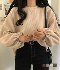 Cute or Ribbed avant-garde Sweatshirt