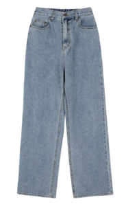 Salt banding wide jeans