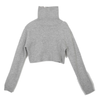 Ram's Wool Crop Polar Knit