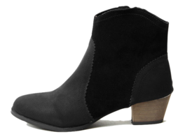 Jettir leather western ankle boots 4cm