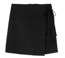 Neph wrap design mini skirt