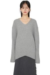 Aura Unfoot V-neck Knit