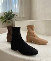 Lines Suede Socks Boots