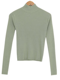 Weney Cash Wool Golji Half Neck Knit
