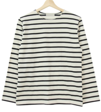 Salt stripe T-shirt
