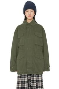 City overfit parka coat