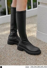 PITO CHUNKY SLIM LONG BOOTS