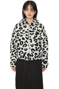 Fed leopard short jacket