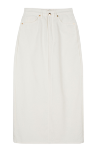 Devon cotton maxi skirt