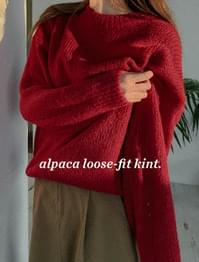 Loeve Alpaca Blending Wool Knit