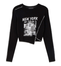 New York Unbal Long Sleeve T-shirt
