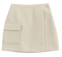 Pocket Slit Skirt