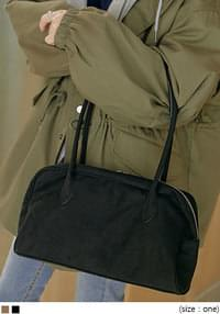 Zip Rectangular Shoulder Bag