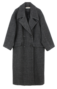 Big Collar Double Coat