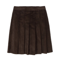Golden pleated mini skirt 裙子