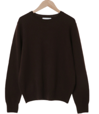 Buttering Round Cashmere Knit