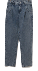 Dayk pintuck denim date pants