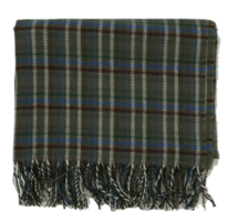 London Check Fringe Long Scarf 配飾
