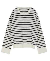 Roy Stripe Crew Neck Knit