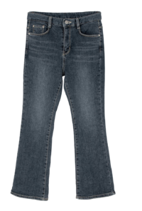 Days Fleece-lined high-rise slim Flared jeans