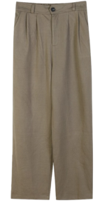 Cold Wide Slacks ♥ Back Banding