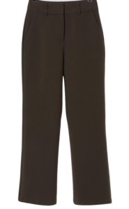 Prom Fleece-lined Flared slacks