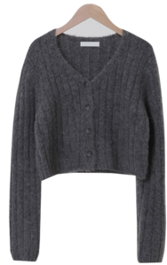 Heimish cropped knit cardigan