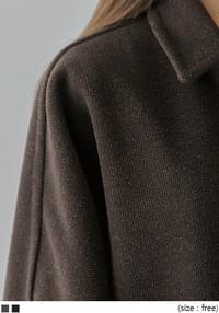 Wool Blend Single-Breasted Coat