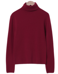Warming Pine Wool Cashmere Polar Knit