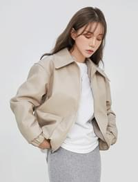 Boa reversible leather jacket