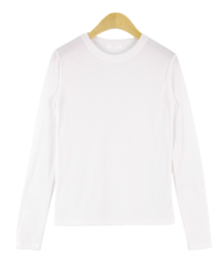 Grammy simple brushed T-shirt