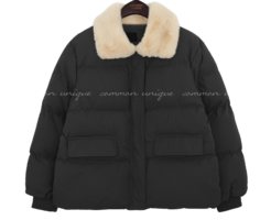 HAZE WELLON FUR COLLAR PADDING