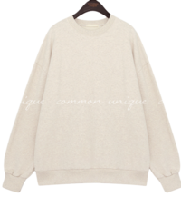 Cotton Loose Fit Sweatshirt